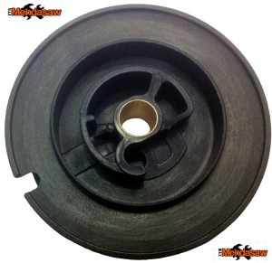 STIHL TS400 RECOIL PULLY LOGO